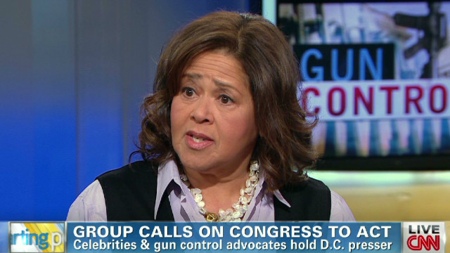 Anna Deavere Smith talks gun control
