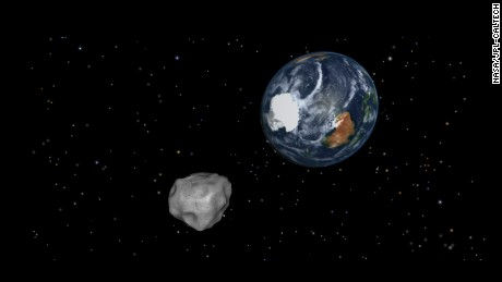 An asteroid is coming! But don't panic. NASA says Asteroid 2012 DA14 will make a record-close pass by Earth on February 15, but it won't hit us. Most asteroids are made of rocks, but some are metal. They orbit mostly between Jupiter and Mars in the main asteroid belt. Scientists estimate there are tens of thousands of asteroids and when they get close to our planet, they are called Near-Earth Objects (NEOs).