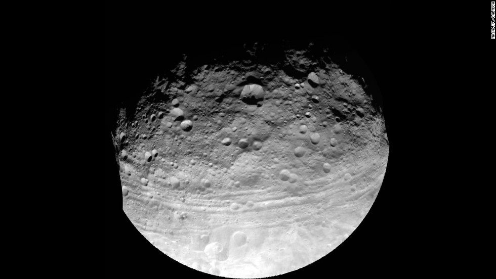 One big space rock got upgraded recently. This image of Vesta was taken by the Dawn spacecraft, which is on its way to Ceres. In 2012, scientists said data from the spacecraft show Vesta is more like a planet than an asteroid and so Vesta is now considered a protoplanet.