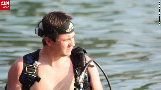 Richard Lucas used to be a SCUBA instructor, but had to stop because of his panic attacks. He plans to return to diving.