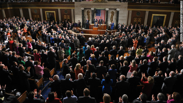 President Obama delivered the 2012 State of the Union address to Congress.