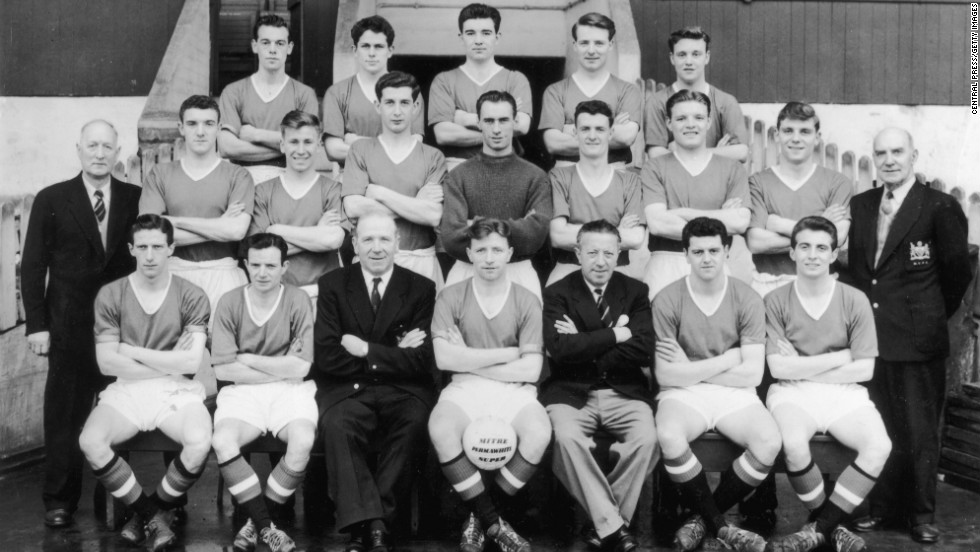 Manchester United, who were the 1956 and 1957 league champions, became the first English side to take part in the European Cup, reaching the semifinals before being beaten by Real Madrid. Tragically, six of the United players who faced Madrid were killed in Munich the following year.
