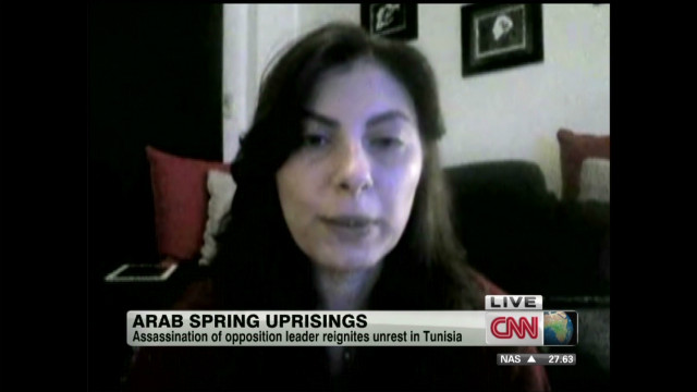 Egypt journalist discusses Arab Spring