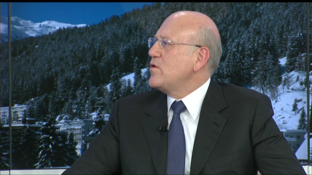 GPS:  Mikati on Lebanon & Syria