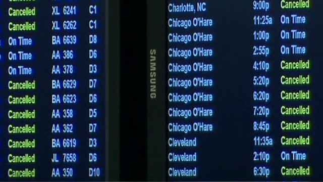 Storm cancels nearly 5,000 flights