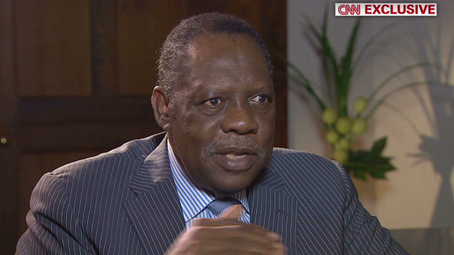 CNN exclusive: Africa's football chief