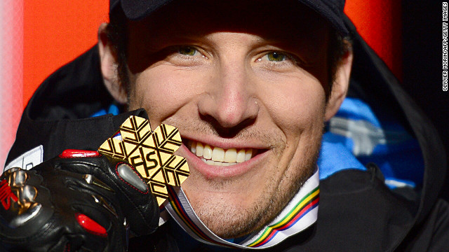 Aksel Lund Svindal is due to defend the downhill world title which he won in Schladming, Austria last year.