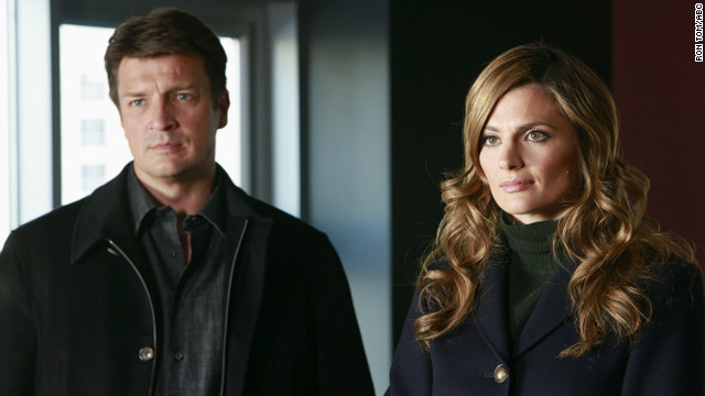 "Nathan Fillion and Stana Katic star on ABC's hit series ""Castle."""