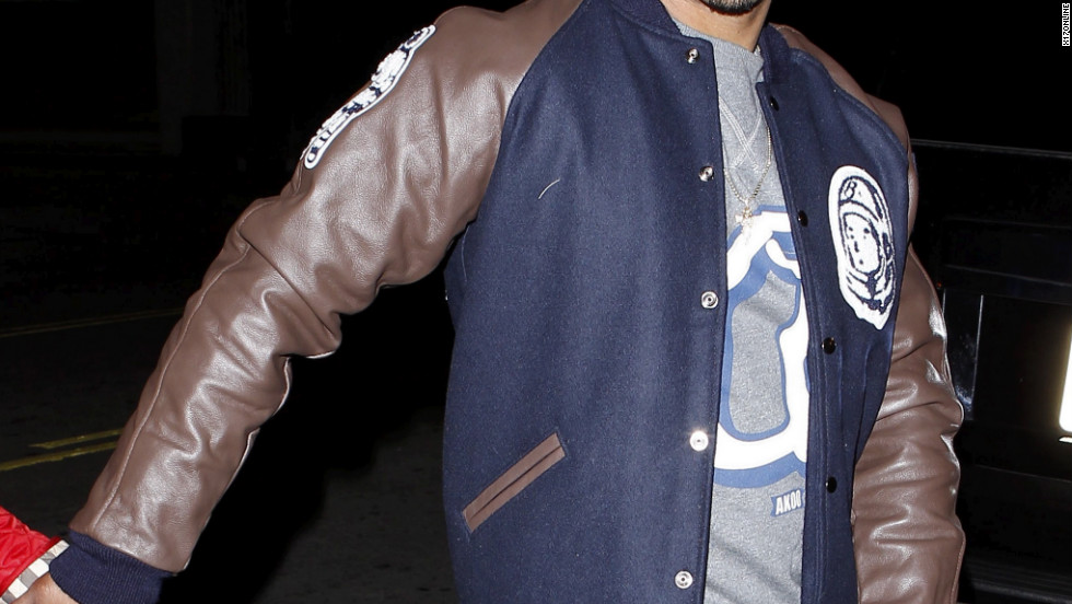 T.I. heads out in Hollywood.