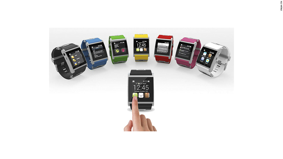 "The Italian-made aluminum <a href=""http://www.imsmart.com"" target=""_blank"">I'm Watch</a> is one of the pricier smartwatch options at $399. It comes in seven colors and runs the Droid 2 operating system. It connects to Android smartphones using Bluetooth to get texts and e-mails, check social networks, make calls and see calendar events."