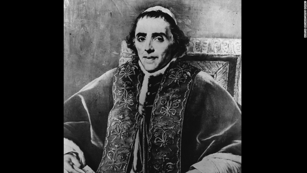 No. 6: Pope Pius VII reigned from 1800 to 1823 for a total of 23 years, 5 months and 7 days.