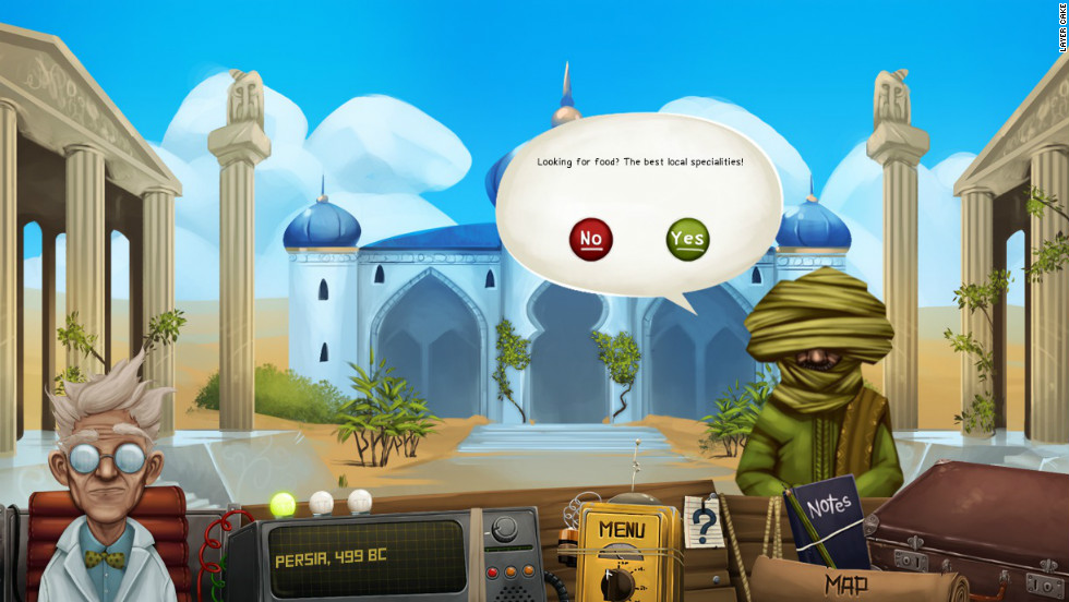 Mr Travel is the first game to train users in travel security.