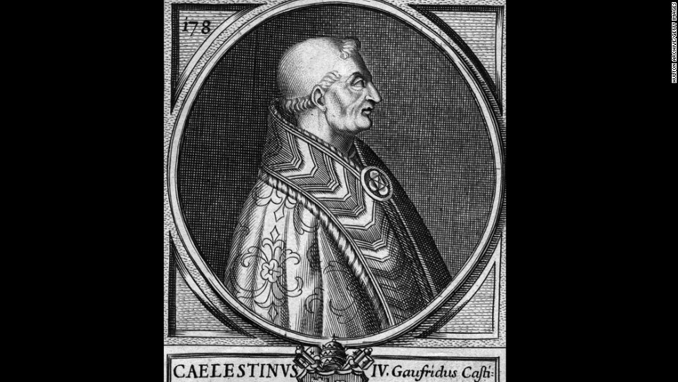Pope Celestine IV reigned for 17 days and died before consecration in 1241.