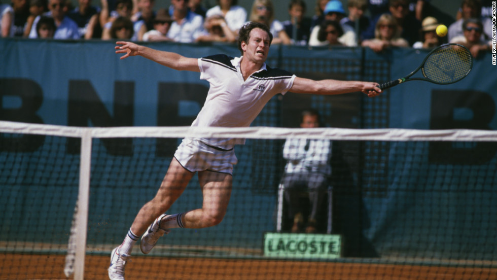 """French Open 1984, just the last few games."" McEnroe's biggest tournament regret is blowing a two-set lead against Ivan Lendl and losing 3-6 2-6 6-4 7-5 7-5 in his only final at Roland Garros."