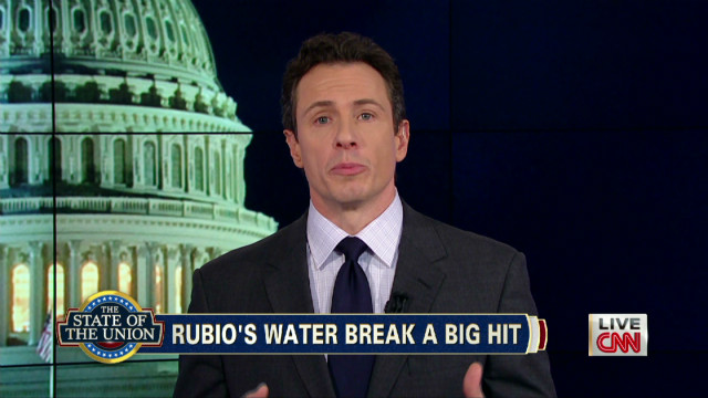 Rubio's water break a big hit online