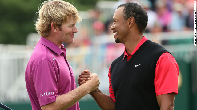 Brandt Snedeker played with Tiger Woods at last year's British Open, but they will not repeat that at the World Match Play.