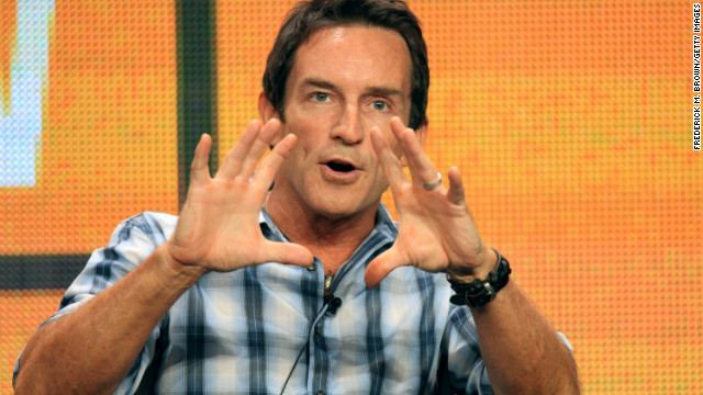 Jeff Probst speaks at the 'The Jeff Probst Show' discussion panel at the Summer Television Critics Association tour in 2012.