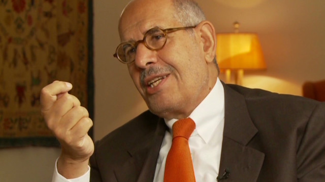 ElBaradei: Egypt 'is a failed state'