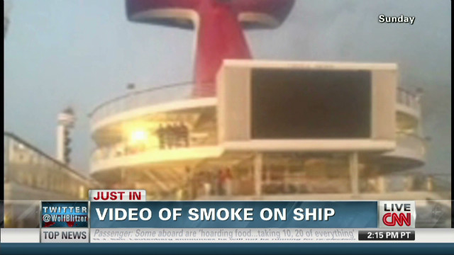 Video of smoke on ship