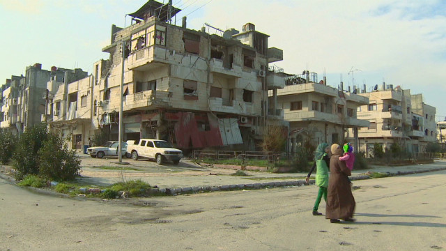 Syria: Homs, a city divided