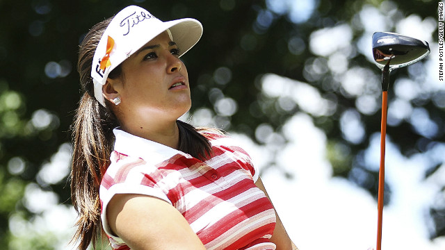 Colombian Mariajo Uribe snatched the lead from Kiwi Lydia Ko at the Women's Australian Open