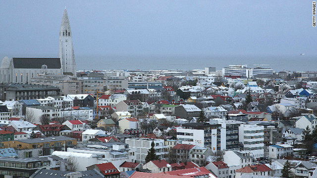 In Reyjkavik, Iceland's capital, government leaders are studying ways to ban Internet porn, calling it harmful to children.