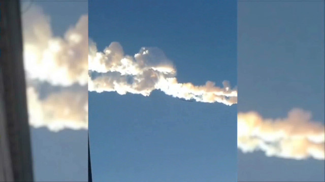 Russian meteor was like 'a rocket bomb'