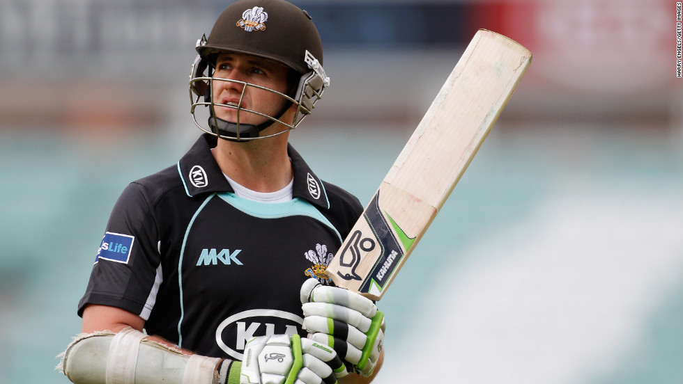 English cricketer Steven Davies announced he was gay in 2011.