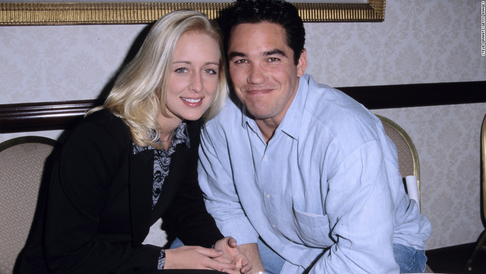 McCready with her then-fiance, Dean Cain, in January 1998.