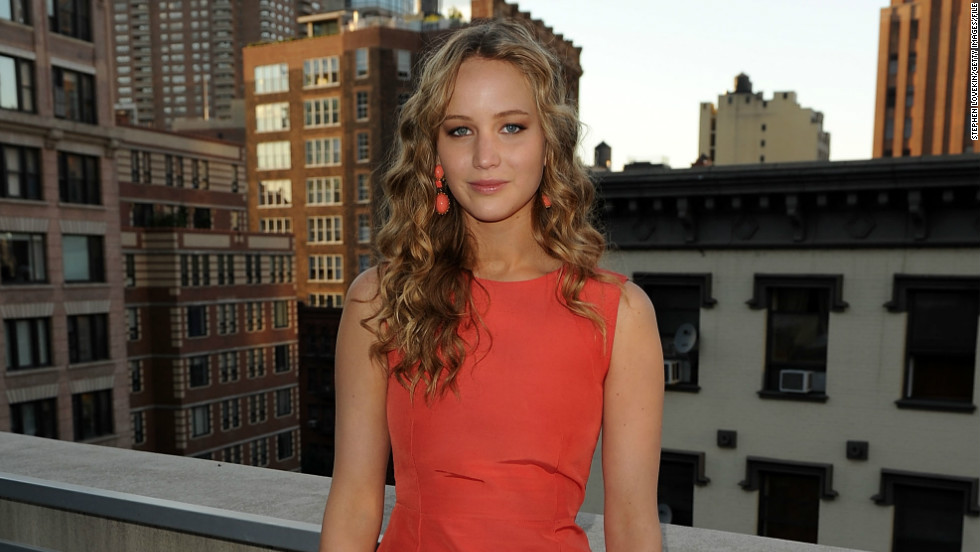 "The 22-year-old actress, here in New York in 2010, received an Oscar nod for her role in 2010's ""Winter's Bone."" She has since appeared in films such as ""Like Crazy,"" ""X-Men: First Class"" and ""The Hunger Games."""