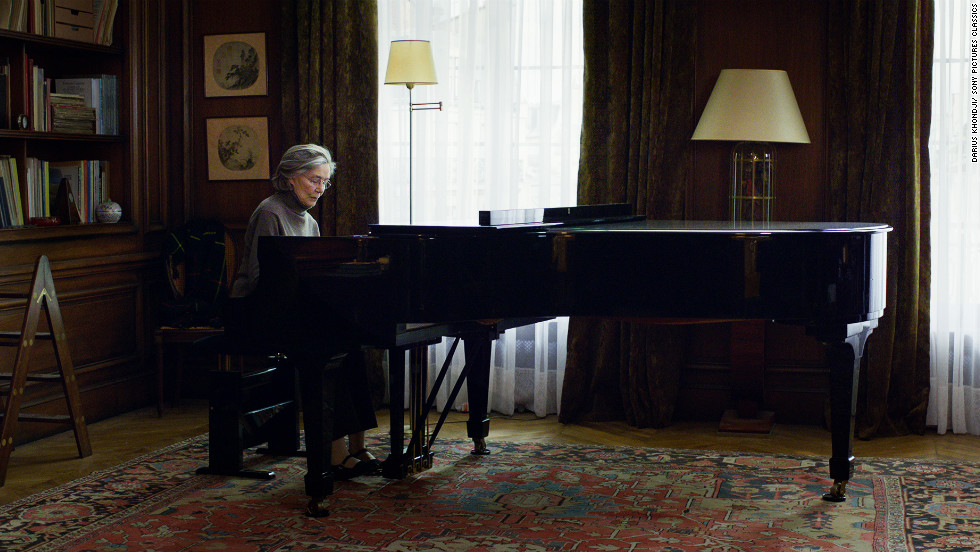 "Another Best Picture contender, ""Amour,"" is set inside a Paris apartment."