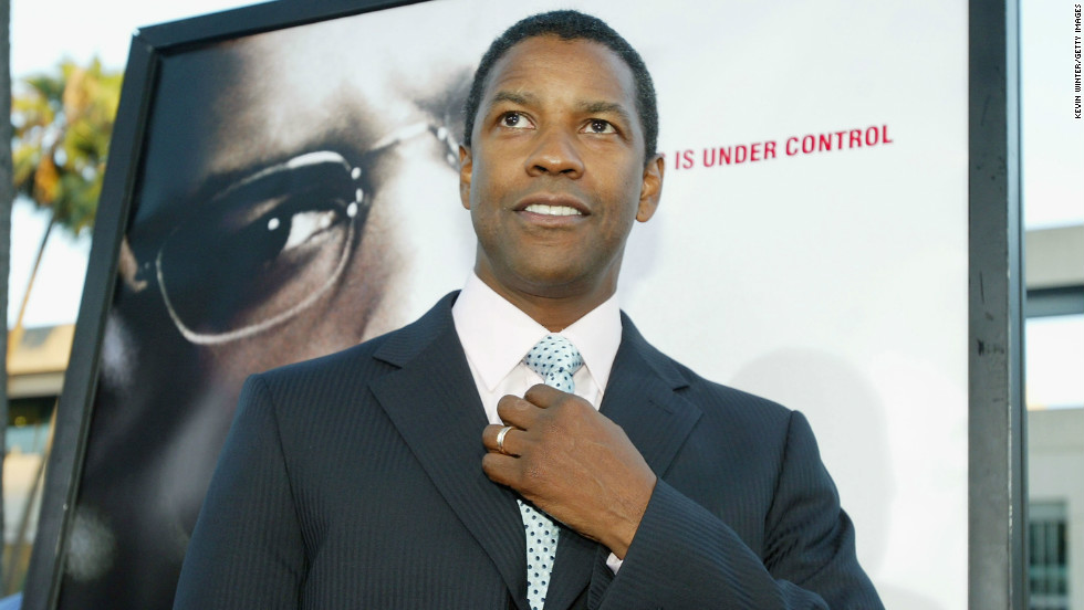 "Washington is shown here at the 2004 premiere of ""The Manchurian Candidate."" He's best known for films such as ""Malcolm X,"" ""American Gangster,"" ""Training Day"" and ""Man on Fire."""