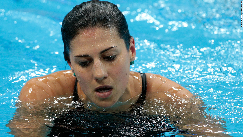 Stephanie Rice was Australian swimming's golden girl after winning three titles at Beijing 2008, but she left the Aquatic Center in London with no medals.