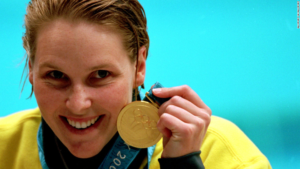 In their home pool at Sydney 2000, the Australians won five golds as Thorpe claimed three titles and Susie O''Neill (pictured) triumphed in the women's 200m freestyle.