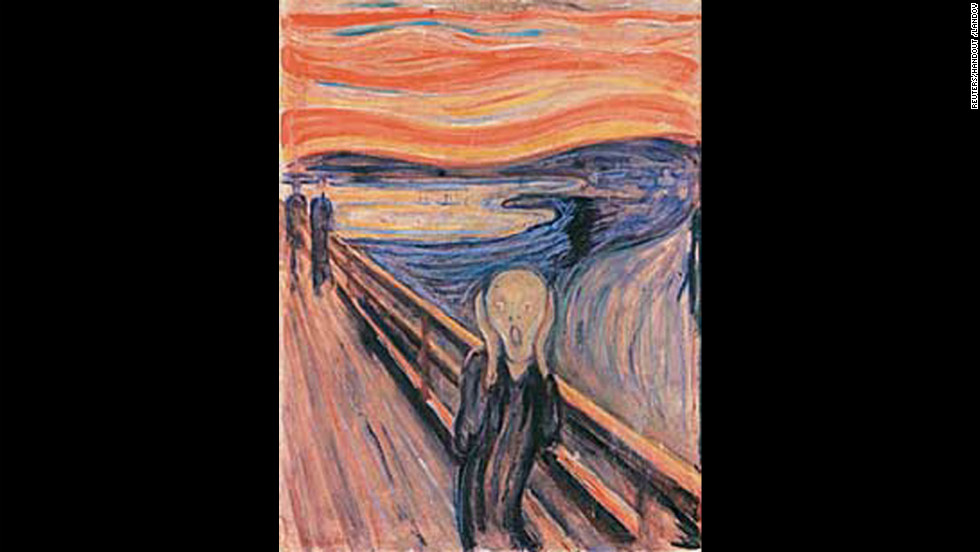 """The Scream"" was one of two Edvard Munch paintings that were stolen from the Munch Museum in Oslo, Norway, in 2004."
