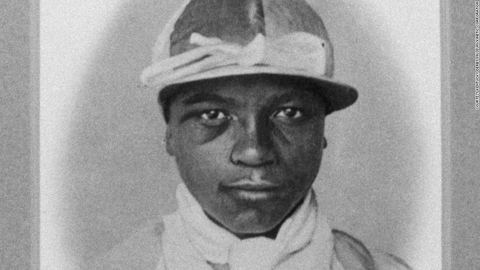 James Perkins won the Kentucky Derby in 1895. Many riders began their careers as slaves who were forced to compete in informal -- and dangerous -- races.