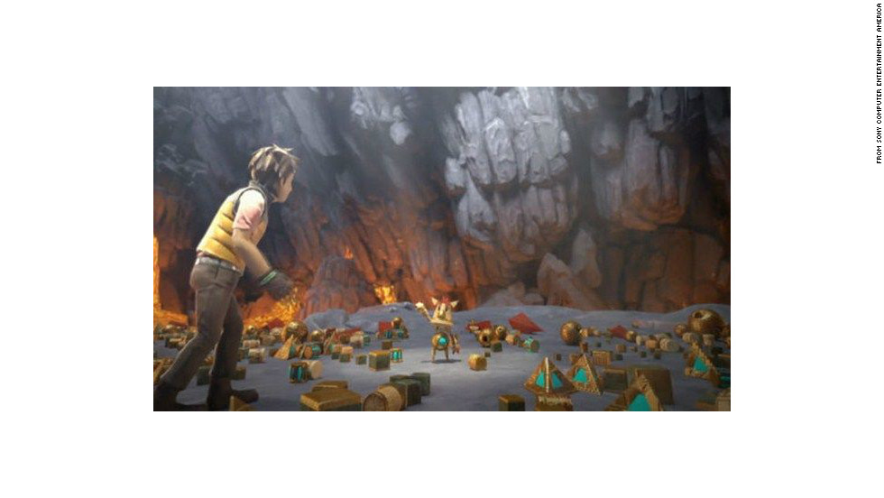 This platform action-adventure game follows the exploits of Knack, a shape-shifting creature who can incorporate surrounding objects to change his appearance and give him new abilities.