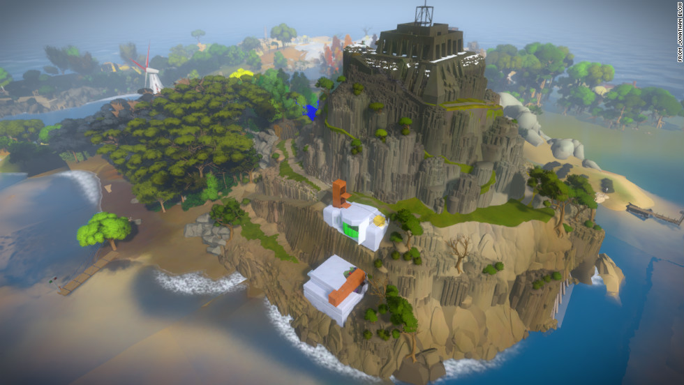 "Billed as ""an exploration-puzzle game on an uninhabited island,"" ""The Witness"" leads players on a maze-like quest where every object is imbued with meaning."