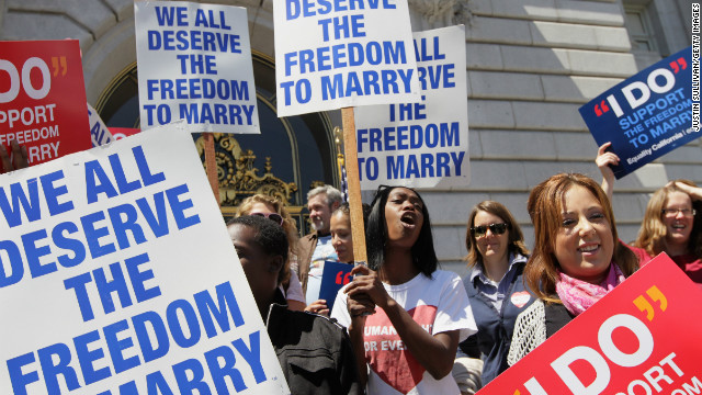 White House weighs in on gay marriage