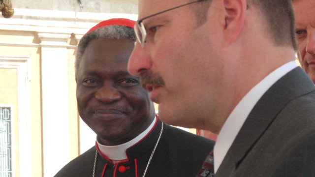 Dr. talks friendship with papal candidate