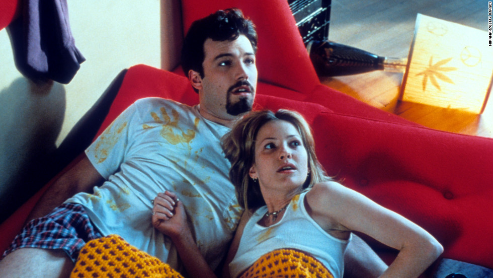 "Affleck and Joey Lauren Adams starred in 1997's ""Chasing Amy."""