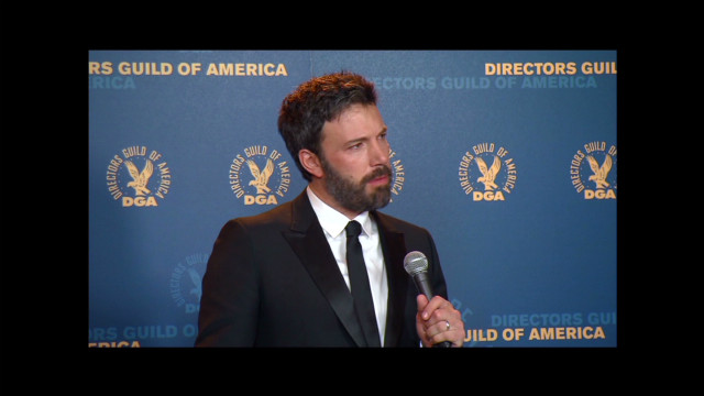 Ben Affleck back in the Hollywood game