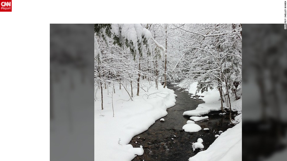"<a href=""http://ireport.cnn.com/docs/DOC-932220"" target=""_blank"">Shelley Bowen</a> snapped this winter scene in Maine using Instagram without a filter."