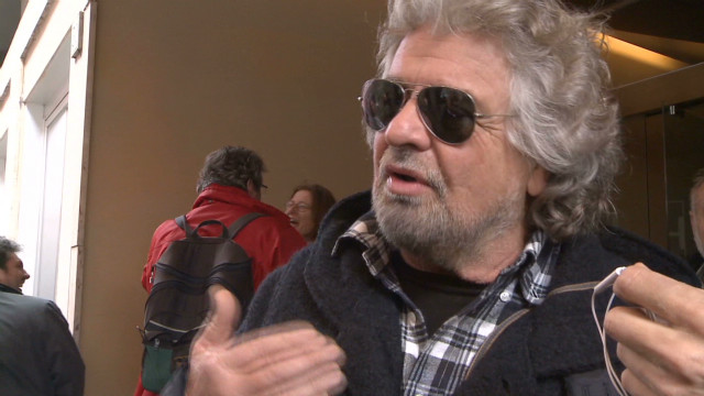 Beppe Grillo's movement storms Italian election