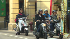 Macau's motorcycles are going electric
