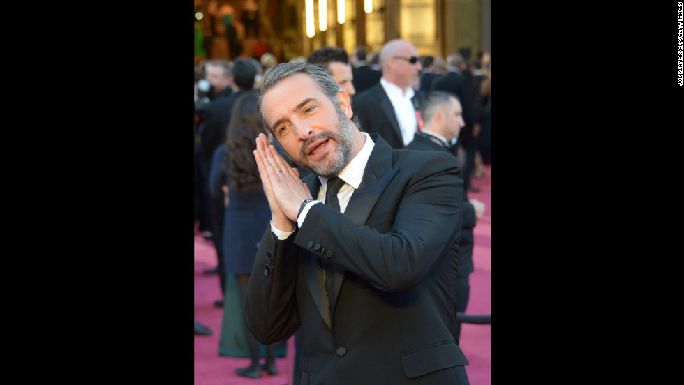 Oscars red carpet photos for 94 jean dujardin
