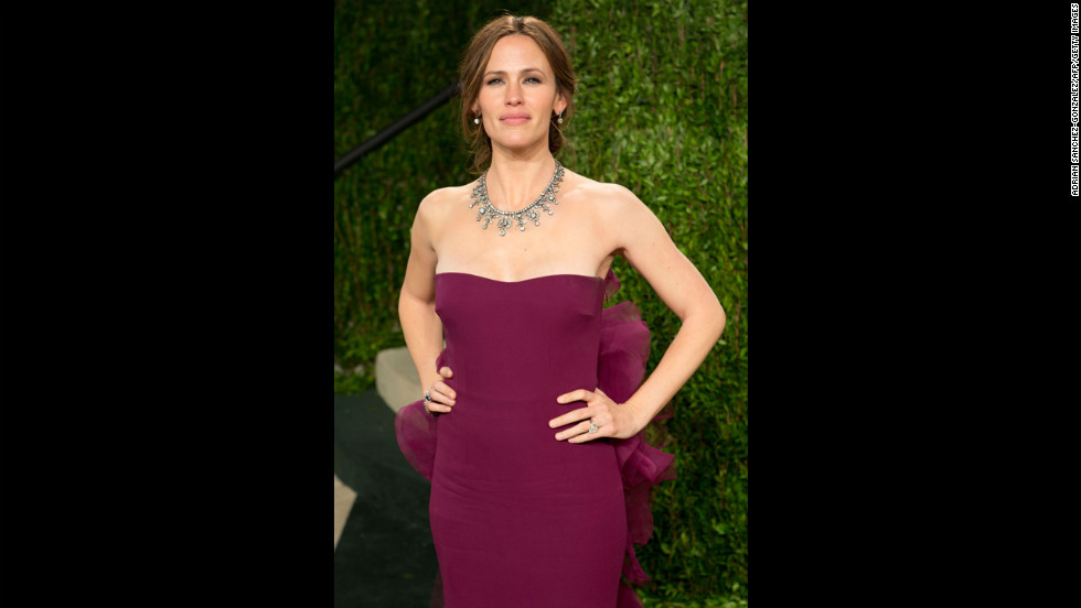 Jennifer Garner at the 2013 Vanity Fair Oscar party.
