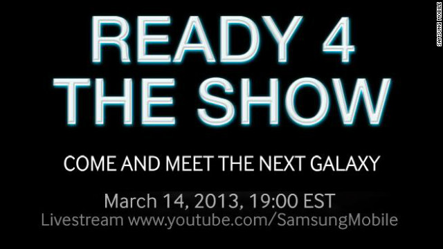In a promo for its March 14 event, Samsung strongly hinted it will unveil the successor to its popular Galaxy S III phone.
