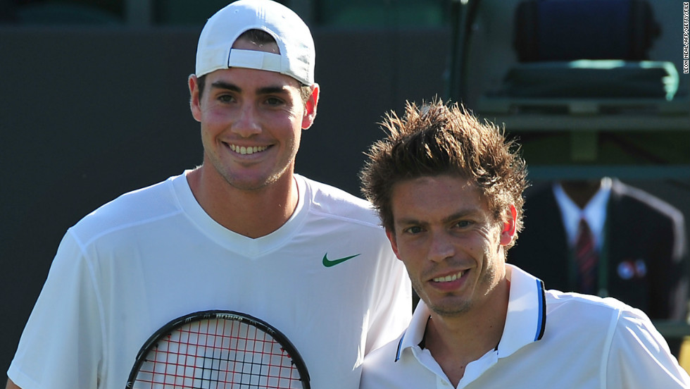 American John Isner and Nicolas Mahut will forever be bonded together by their singles clash at Wimbledon in 2010 which became the longest match in tennis history.