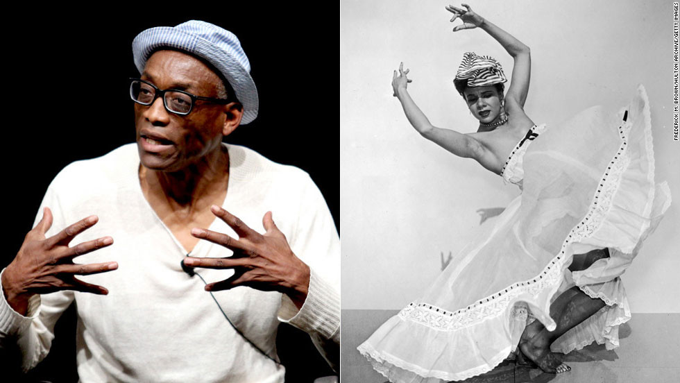 "American choreographer Katherine Dunham, right, was a pioneering modern dancer who brought the anthropological study of black dance to high art in the 1940s and '50s. Her self-supported black dance company honed the talents of Eartha Kitt and Alvin Ailey. Today, choreographer and dancer<a href=""http://www.newyorklivearts.org/about/bill-t-jones.php"" target=""_blank""> Bill T. Jones</a> continues to bring the African-American roots of modern dance to the most recognized levels of high art. Aside from earning the Dorothy and Lillian Gish Prize, one of the arts world's largest endowments, Jones has won the MacArthur Genius award, multiple Tony awards and a Kennedy Center Honor."